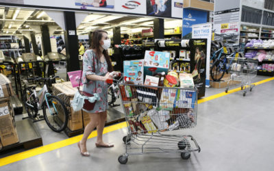 COVID-19大流行期間的無壓力超市購物指南