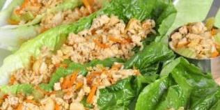 簡易火雞生菜包—Easy Turkey Lettuce Wrap